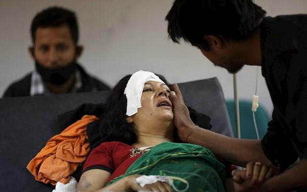 Polis yetkilileri, son olarak enkaz altından bin 910 kişinin cesedinin çıkarıldığını, 5 binden fazla kişinin yaralandığını açıklamıştı.