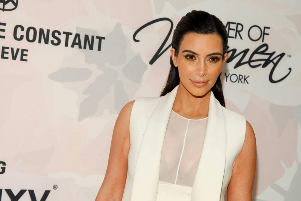 Kim Kardashian attends Variety's Power of Women Luncheon at Cipriani Midtown in New York on Apr. 24, 2015.