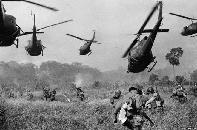 AP-Muhabirlerinin objektifinden Vietnam Savaşı