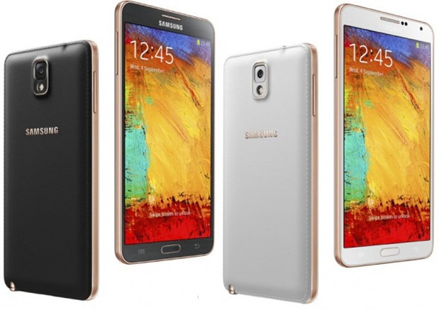 10. Samsung Galaxy Note 3 Pil gücü 3200mAh 2 saat 15 dakika