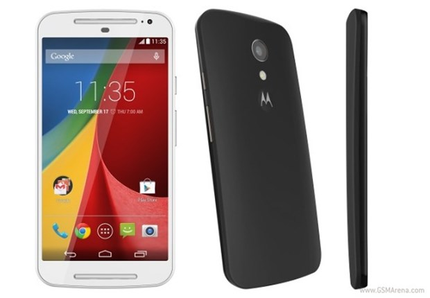 12. Motorola Moto G (2014) Pil gücü 2070mAh 2 saat 31 dakika