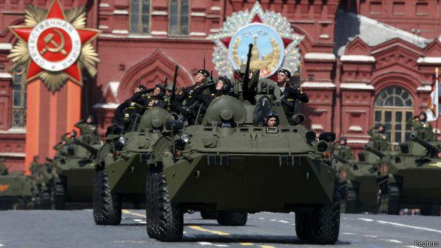 Ancak bazı liderler, Rusya'nın Ukrayna politikasına tepki olarak törenleri boykot ediyor.