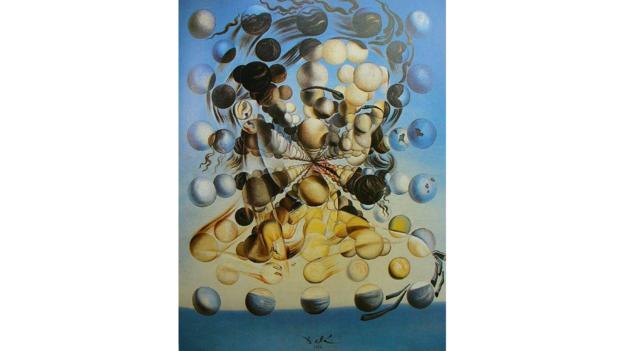 Kürelerden Deniz Perisi Galatea (Eşi Gala Dali'nin portresi) (1952)