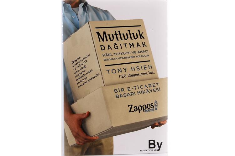 """Mutluluk Dağıtmak - Tony Hsieh Tek kelimeyle mutlaka alın diyorum, başka bir şey demiyorum. Sadece """"şirket nasıl yönetilir"""", """"internet dünyası"""" konularında değil """"hayatınızdaki tutkularınızı ve amaçlarınızı bulmak yolculuğu ve hayallerinizi gerçekleştirmek ve kişisel serüven"""" konularında da ilham verici bir kişisel yaşanmışlıklar (tecrübeler) bütünü… Kitabın en güzel yönü de, yazar gibi değil de konuşur gibi, çok samimi ve açık bir uslüpla hayatının akışını kaleme almış Tony. Bu da ayrı bir yetenek."""