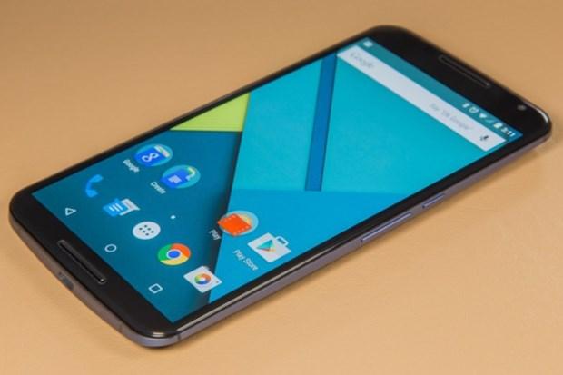 4. Google Nexus 6 Pil gücü 3220mAh 1 saat 38 dakika