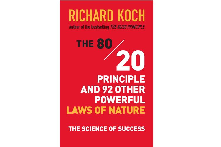 80/20 İlkesi - Richard Koch Sonuçların yüzde 80'inin, nedenlerin yüzde 20'sinden kaynaklandığı, etkili insanların ve örgütlerin inandığı başlıca ilkelerden biridir. Girişimci ve strateji danışmanı Koch'un yapıtı, sağduyuya aykırı gelse de evrensel geçerliliği olan bu ilkeye karşı gelenlerin, sebep-sonuç arasında eşit bir orantı aradıklarını, ancak işler bekledikleri gibi gelişmeyince bunu görmezden gelmeyi yeğlediklerini ileri sürüyor.