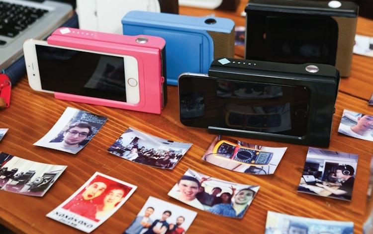 Prynt Topladığı fon ($): 1,124,557 Telefonunuzu Polaroid kameraya çeviren kılıfıyla fotoğraflarınızı basabiliyorsunuz.