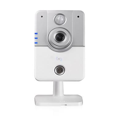 Özellikler Görüntü Sensörü Şekil PTZ SensörCMOS Sensör Boyutu 1/4 İnç renkli CMOS Sensör Çözünürlük1.0 MP Lens (mm)3.6mm LensZoom Lens +IR-kesim Görüş Açısı (derece)56.14 Minimum Aydınlatma (Lux)0 Video Görüntüsü/Ses Ayarları SıkıştırmaH.264 Video Kare Hızı (FPS)30 Yenileme Hızı60HZ Video AyarıOtomatik Arka Işı Telafisi, Otomatik Beyaz Dengesi, Ayarlanabilir Kontrast, Ayarlanabilir Parlaklık Ses ÇıkışıDahili Hoparlör Ses GirişiDahili Mikrofon Ses Sıkıştırma StandartıG711A Ses Örnekleme Frekansı (Kpbs)32 Komünikasyon&Arayüz Bağlantı ModuKablosuz, Kablolu Ağ ArayüzüRJ-45 10/100Mb Kendiliğinden Uyan Ethernet slotu, Wi-Fi/802.11/b/g Desteklenen ProtokolDNS, FTP, PPPoE, UPNP, DDNS, HTTP, SMTP, DHCP, TCP/IP P2PEvet Kablosuz GüvenlikWPA2, WPA, WEP IP ModuStatik IP adresi, Dinamik IP adresi DDNS (Bedava)Yes Alarm Girişi2 Açık/Kapalı Giriş Alarm HareketiYerel Alarm, Eposta Fotografı Fiziksel/Çevre EvGaraj, Ön kapı, Arka bahçe, Bebek Odası İşSokak, Okul, Depo, Mağaza, Ofis Çevreİç Mekan Güç Kaynağı (V)5V 2A Güç Tüketimi (W)5W Çalışma Sıcaklığı (℃)-10——50 Depolama/Saklama Sıcaklığı (℃)20 Nem (%) RH95 Boyut (U x Y x G, mm)104*102*117mm Ağırlık (g)1500g Sistem Gereksinimleri Desteklenen Mobil SistemlerAndroid, iPhone OS Desteklenen İşletim SistemleriMac os, Microsoft Windows 7, Microsoft Windows XP Desteklenen TarayıcılarIE Müşteri YazılımıYes Ekstra Özellikler IR Mesafesi10-15m ÖzelliklerTak Çalıştır/Oynat, Wi-Fi Korumalı Kurulum, IR-cut, Uzaktan Erişim, İkili Yayın, Hareket Algılama HDD Kayıt ÖzelliğiYes Çift Yönlü RadyoYes Sesli AramaVideo Arama, İki-yönlü Ses DepolamaTF Kartı Maximum SD Card Support (GB)128 Diğer FonksiyonÇift Akım Online Kullanıcı5 Yazılım GüncellemeYes Yatay Çevirme (derece)355 Dikey Çevirme (derece)120