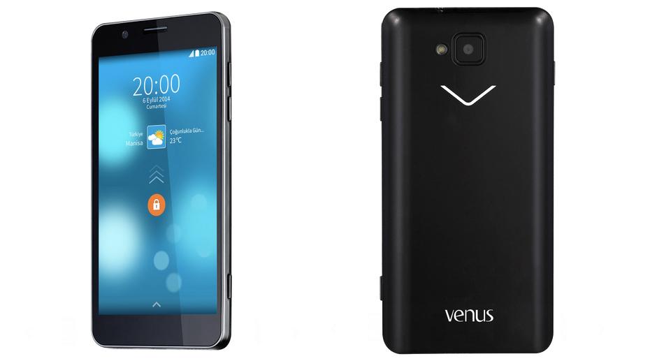 Vestel Venus 5.0V Yaklaşık fiyatı: 650 TL