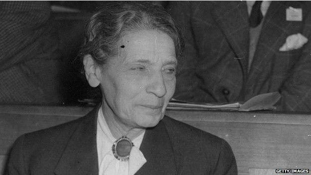 Avusturyalı Lise Meitner nükleer fizikçiydi.