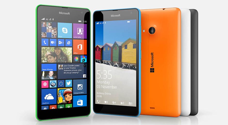 Microsoft Lumia 535 Yaklaşık fiyatı: 600 TL