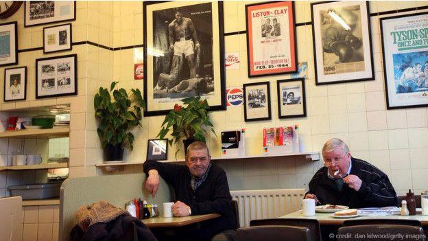 Pimlico semtindeki Regency Cafe
