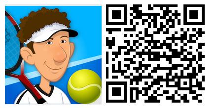 Stick Tennis Tour; Kendi oyuncunuzu yarattığınız Stick Tennis Tour'da, dünya turuna çıkacak ve başka oyuncularla tenis maçları yapacaksınız. Ayrıca maçlarda en yüksek puanları toplamaya çalışacaksınız.  Uygulamayı resimdeki QR kodu okutarak indirebilirsiniz