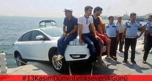 Denize düşecek otomobil İstanbul'da nasıl kurtarılır?