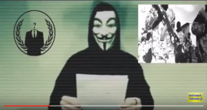 Anonymous accuses Silicon Valley firm of helping ISIS by protecting their websites from cyber attacks