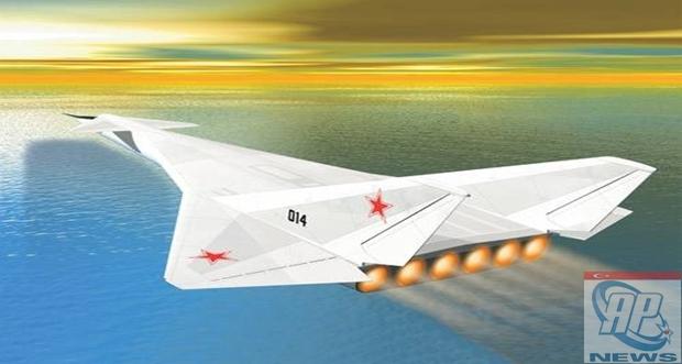 SOVİET TOP SECRET NUCLEAR AIRPLANE M-60