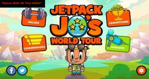 Jetpack Jo's World Tour oyununu bitirene tam 10 bin sterlin ödül