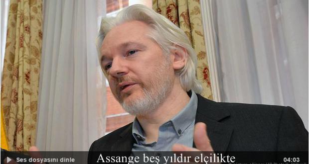 Wikileaks'in kurucusu Assange beş yıldır elçilikte