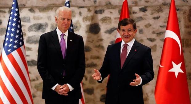 Davutoğlu - Biden ortak açıklaması