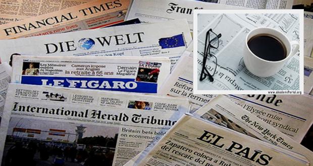 7 Ocak İngiltere basınından özet başlıklar 'Ap News Türk'
