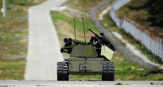 Putin robot askerlerini Suriye'de denemeye başladı