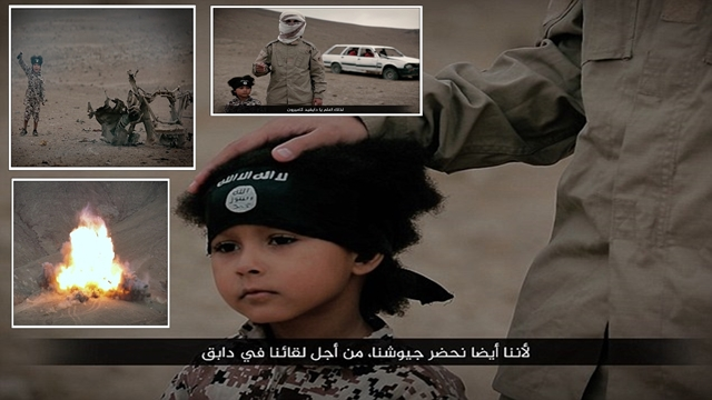 Shocking new ISIS video shows four