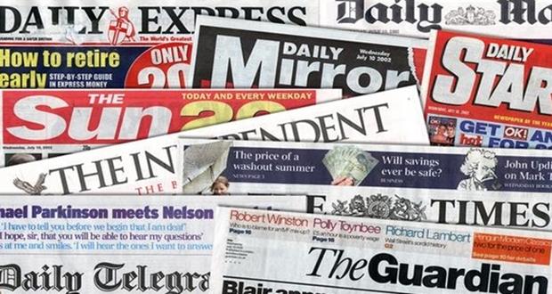 Dış basın: İngiltere basınından özet başlıklar 15 şubat