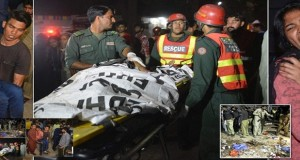 Terrorist attacks in Pakistan, 65 dead 300 injured