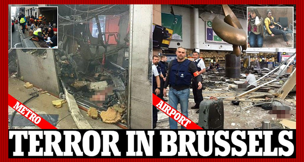 LIVE PAGE: NATIONAL NEWS CENTER- Brussels Attack News