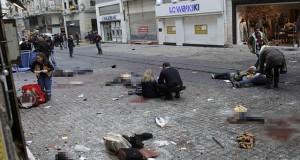 İstanbul Beyoğlu, İstiklal caddesindeki bombalı saldırı dünya basınında