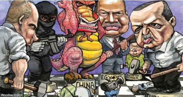 Freedom House: Türkiye'de Basın Özgürlüğü Yok