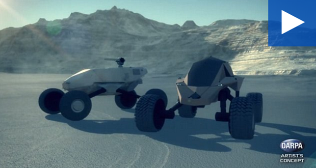 DARPA reveals designs for off-road GXV-T armored vehicles