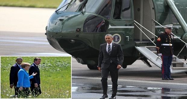 Almanya Başkan Barack Obama'yı bekliyor