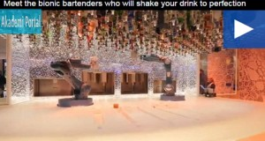 """Meet the bionic bartenders who will shake your drink to perfection"""