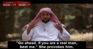 How discipline wife Saudi style Muslim family therapist advises men beat spouses toothpick handkerchief forsake bed