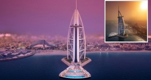 Burj Al Arab Dubai unveils new terrace Persian Gulf