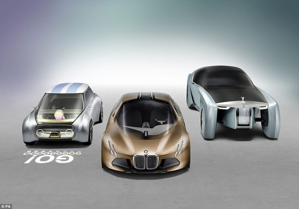 Rolls-Royce concept car: Rolls-Royce unveils its driverless car of the future