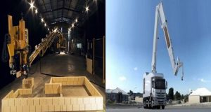 Robot brickie: It can work 24 hours day, and finish an entire house in just two days