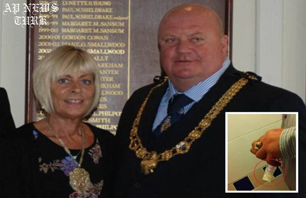 The Mayor of Dover: Dover's current Mayor Neil Rix caught 'sniffing white powder'