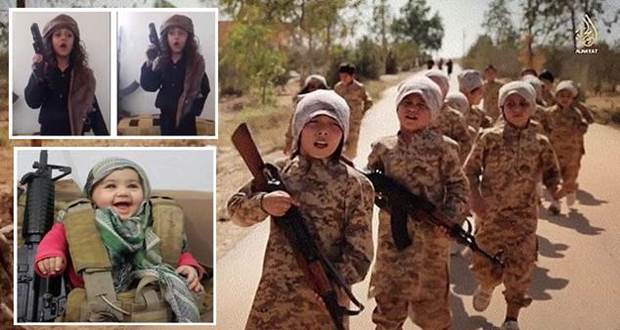 Small terrorist Seeds: ISIS hits new low by using children and babies in  new propaganda video | Akademi Portal