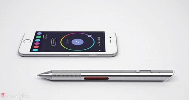 Move over Bic: Futuristic 'Cronzy' pen lets you write in 16 MILLION colours