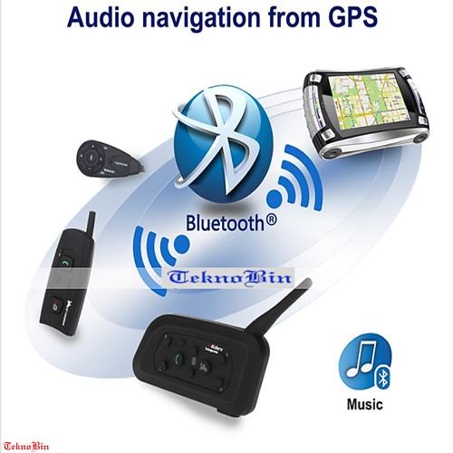 NFC: Motorsiklet Bluetooth Kulaklık Kasklara Özel