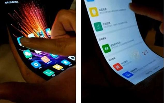 Xiaomi: Leaked video shows a mobile with a flexible screen