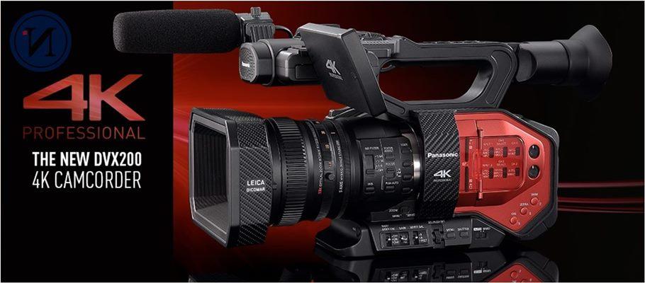 Panasonic Sabit lens 4K Kamera Etkileyici 4K üretimi elinizde