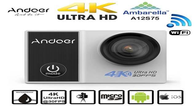 Andoer Pro 4 k Wifi Spor Aksiyon Kamera