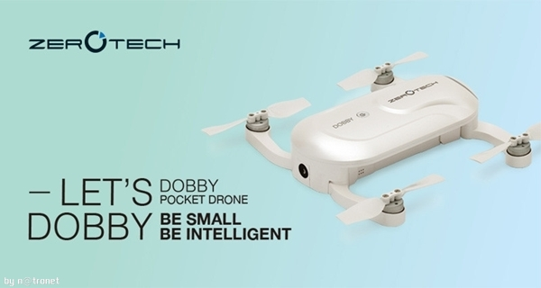 Zerotech dobby mini selfie wifi app kontrol Drone