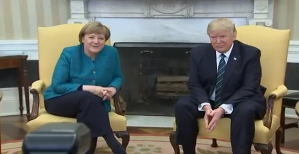 Donald Trump Angela Merkel'den 'savunma' parası istedi