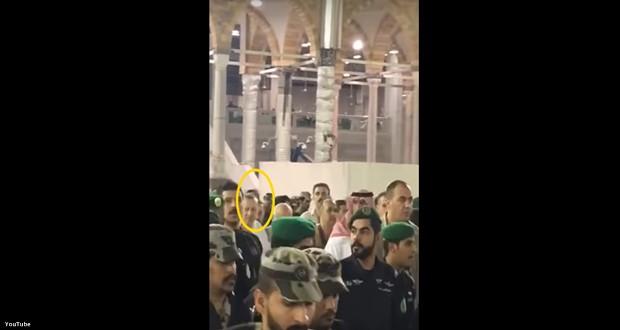 Cumhur Başkanı Erdoğan Kabe'ye Orduyla girmiş - Video