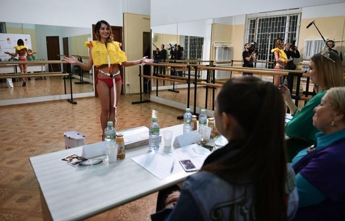 Moskova Güzellik Yarışması'nın son seçmeleri yapıldı [Galeri]