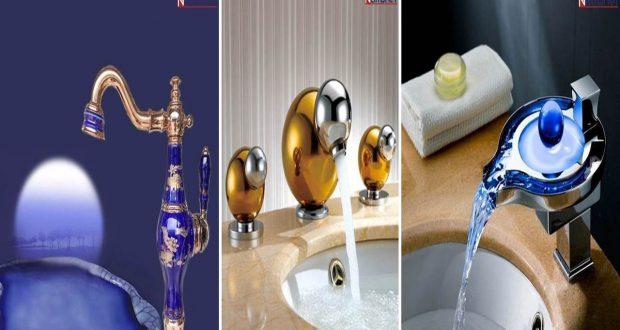 Lüks Özel tasarım banyo & lavabo muslukları [Galeri]